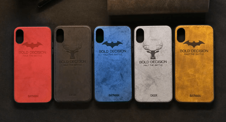 All Fabric Luxury Cloth Cases