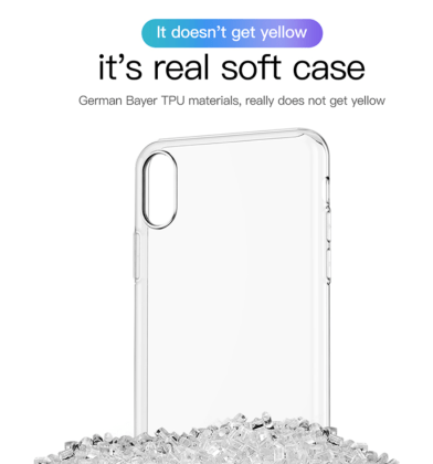 Soft Clear Silicone Ultra Thin Transparent Case