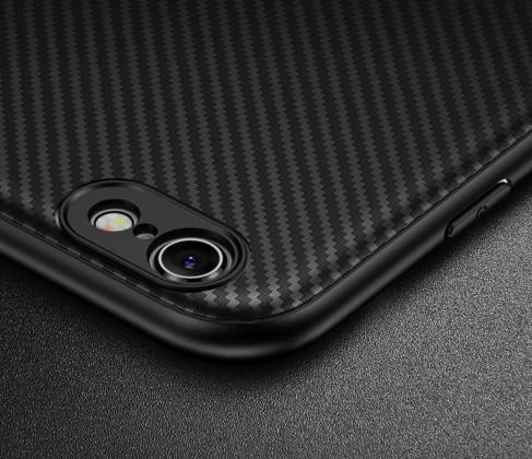 Thin Carbon Fiber Case Camera Protection