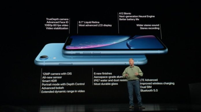iPhone XR specifications
