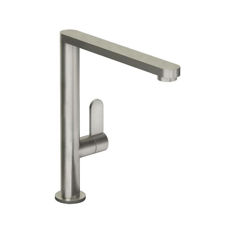 Abode Linear Single Lever Mono Sink Mixer Brushed Nickel