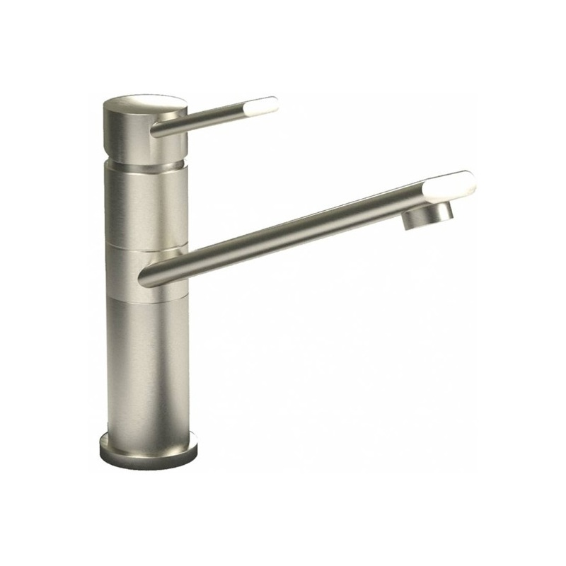 Abode Specto Single Lever Mono Sink Mixer Brushed Nickel