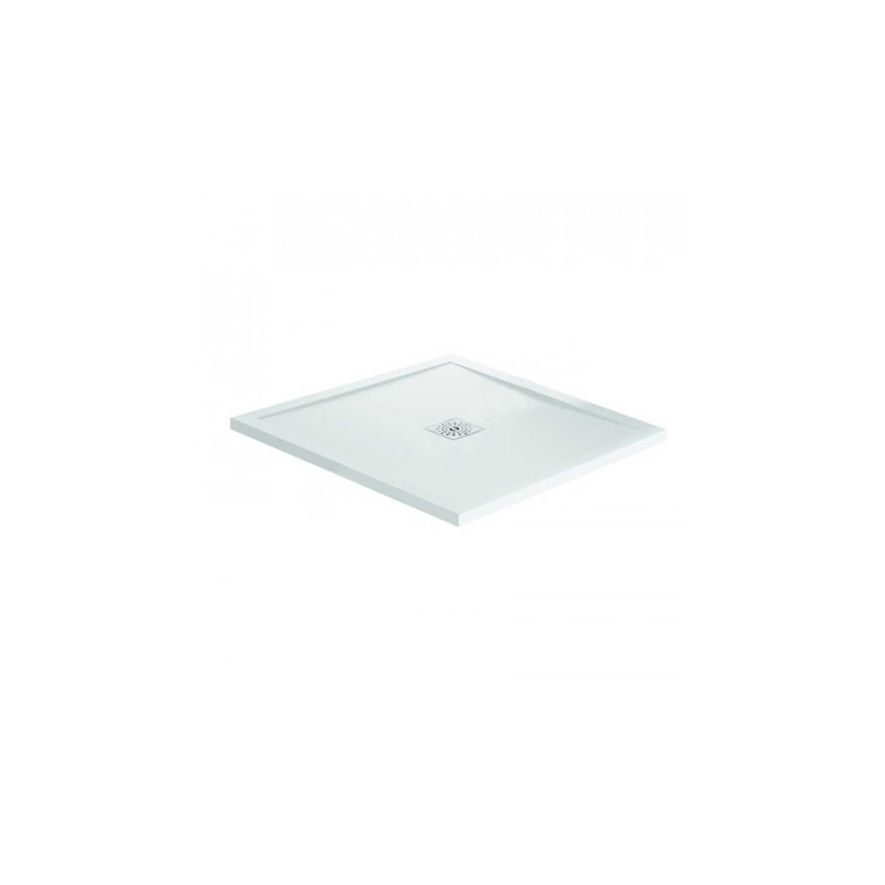 April Waifer Gloss White Shower Tray 900x900mm
