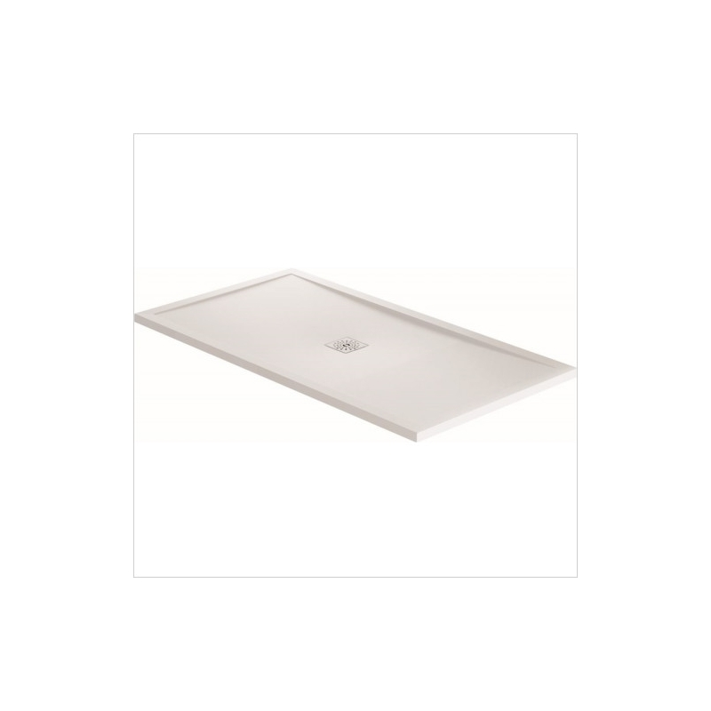 April Waifer Gloss White Shower Tray 1200x800mm