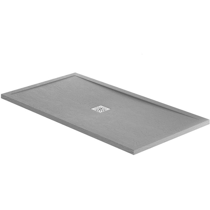 April Waifer Slate Effect Tray Grey 1200x700mm