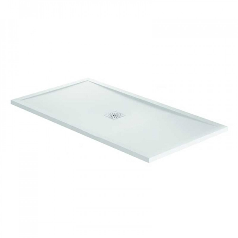 April Waifer Gloss White Shower Tray 1600x900mm