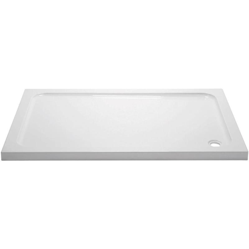 April 1400x760mm Rectangular Shower Tray