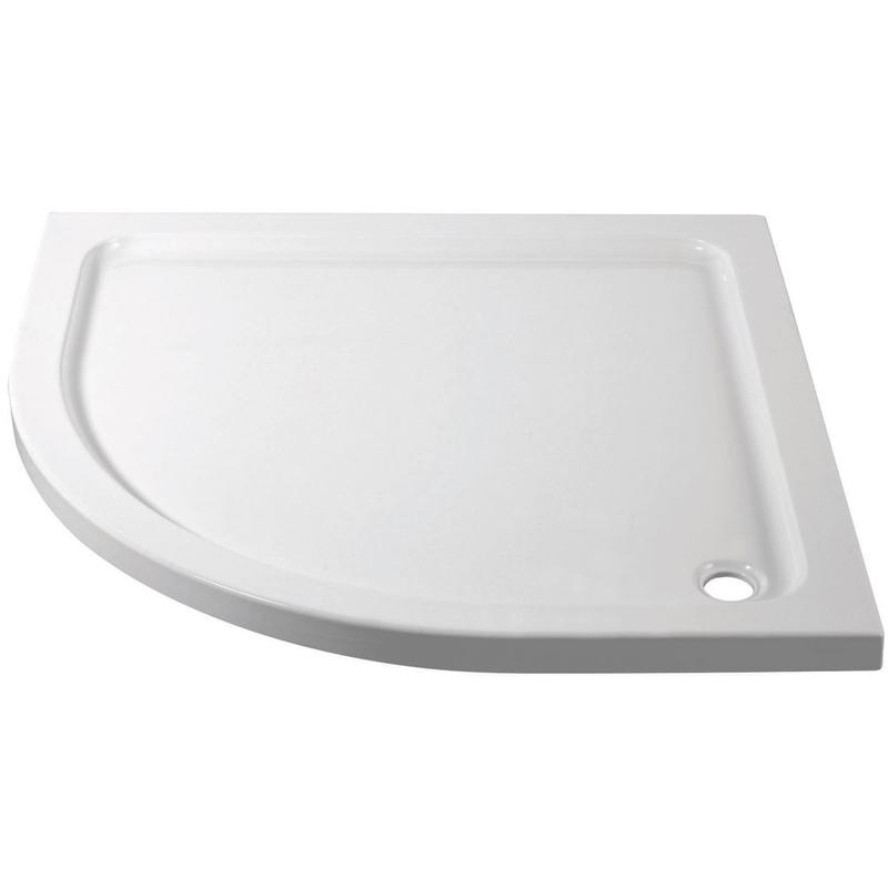 April 800x800mm Quadrant Shower Tray