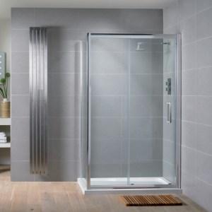 Aquadart Venturi 8 Sliding Shower Door 1100mm
