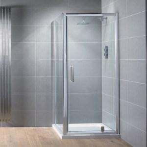 Aquadart Venturi 8 Pivot Shower Door 760mm
