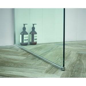 Aquadart Wetroom 8 Floor Channel Silver