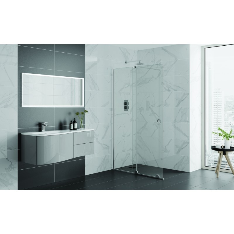 Aquadart Rolla 8 Sliding Wetroom Door 1600mm