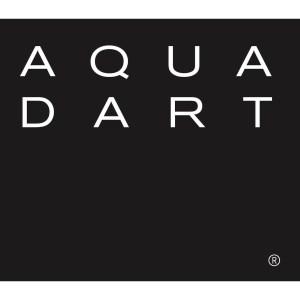 Aquadart Rolla 8 Corner Post Matt Black