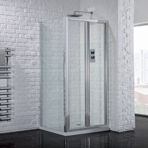Aquadart Venturi 6 Bifold Shower Door 1000mm