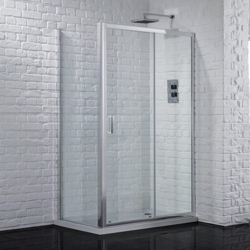 Aquadart Venturi 6 Sliding Shower Door 1200mm