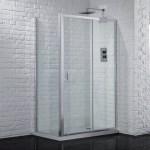 Aquadart Venturi 6 Sliding Shower Door 1400mm