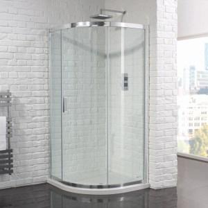 Aquadart Venturi 6 Single Door Quadrant Enclosure 900mmx900mm