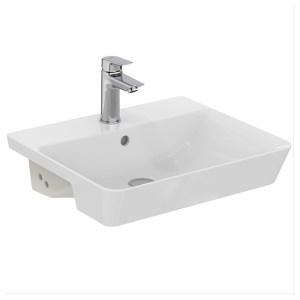 Armitage Shanks Edit L 50cm 1 Taphole Semi-Countertop Washbasin