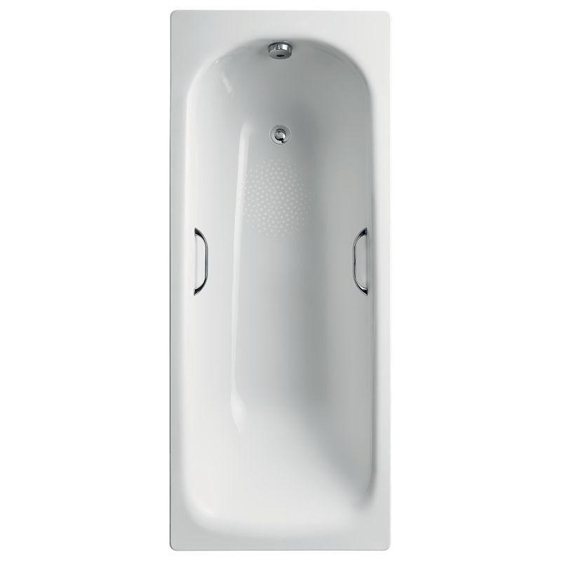 Armitage Shanks Sandringham 21 Steel Bath 170x70 Anti Slip S1838
