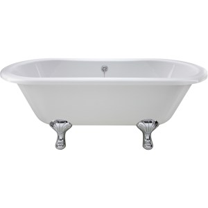 Bayswater Leinster 1500mm Double Ended Freestanding Bath