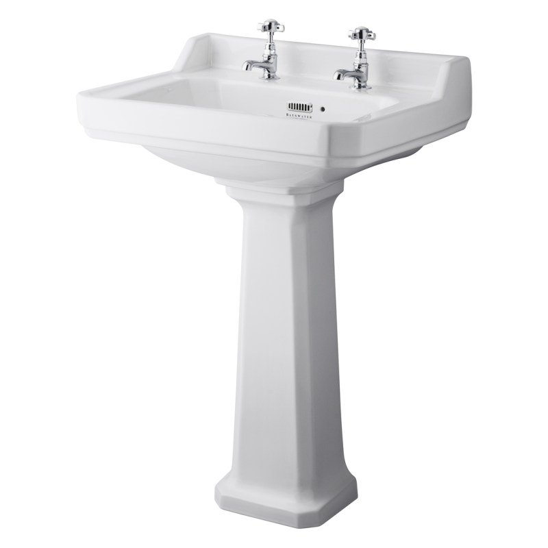 Bayswater Fitzroy 595mm 2 Tap Hole Basin