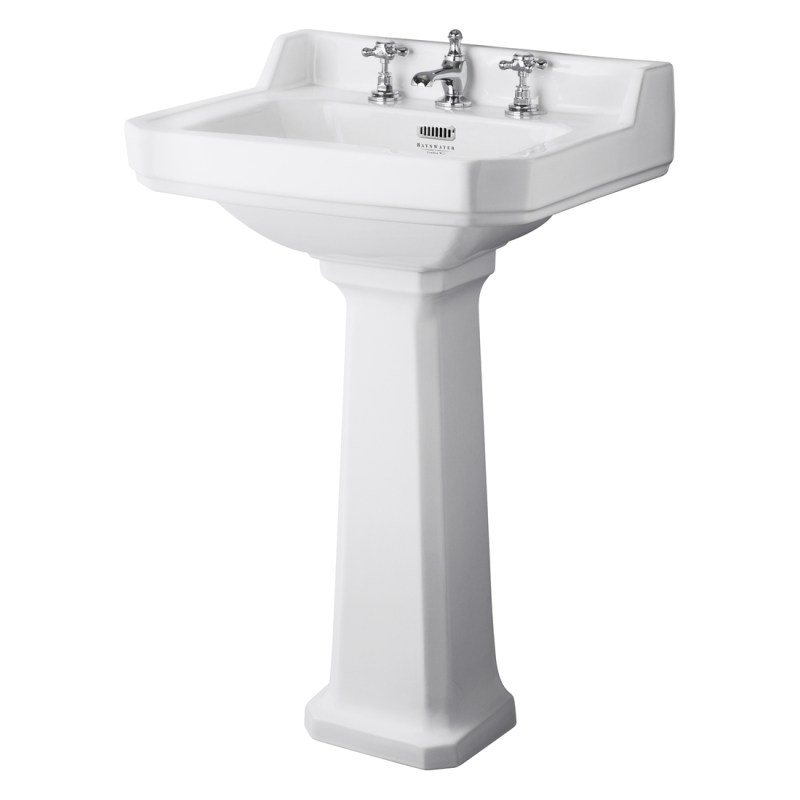 Bayswater Fitzroy 560mm 3 Tap Hole Basin