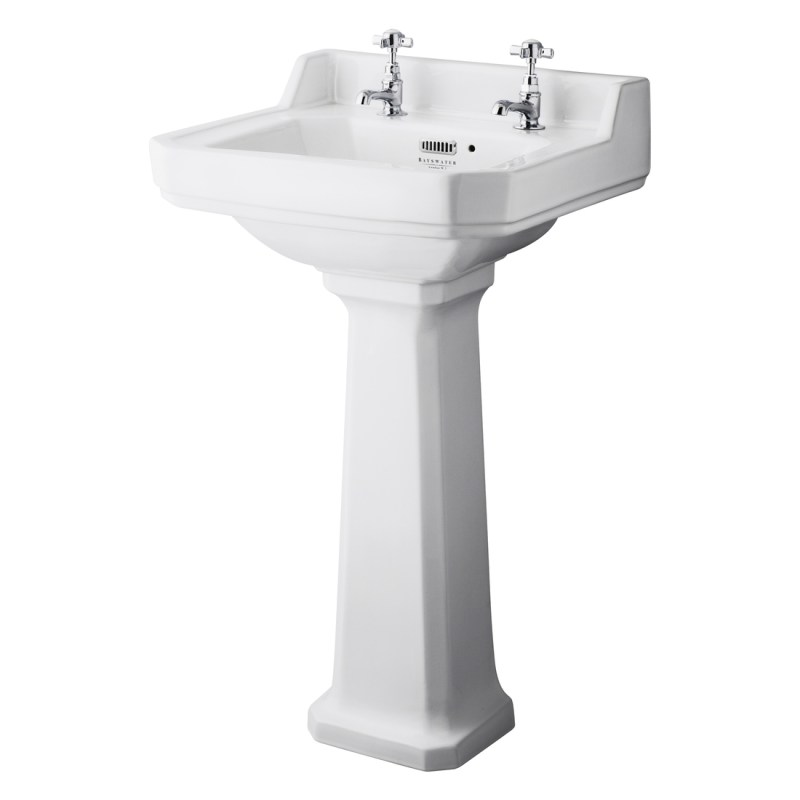 Bayswater Fitzroy 500mm 2 Tap Hole Basin