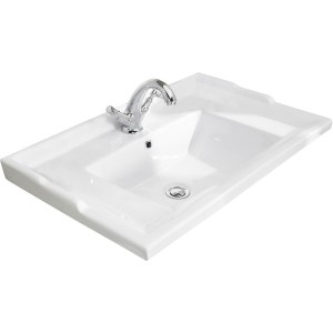 Bayswater 600mm Traditional 1 Tap Hole Basin
