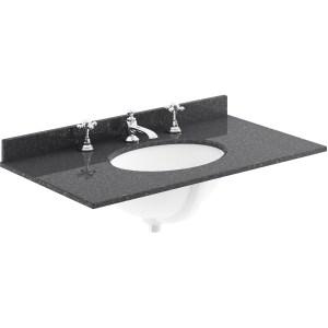 Bayswater Plummett Grey 800mm 2 Door Basin Cabinet
