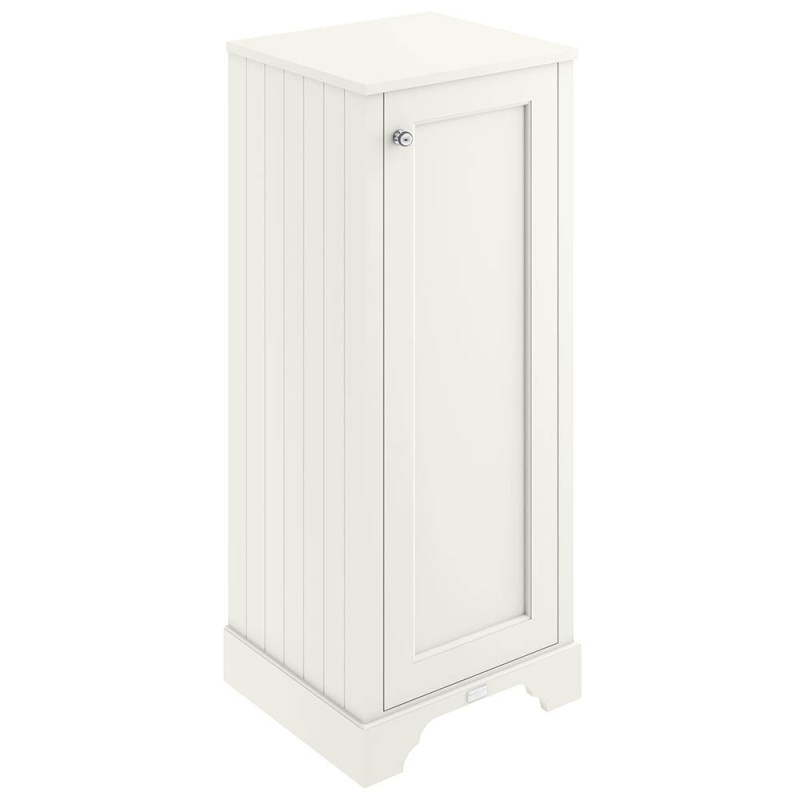 Bayswater Pointing White 465mm Tall Boy Cabinet