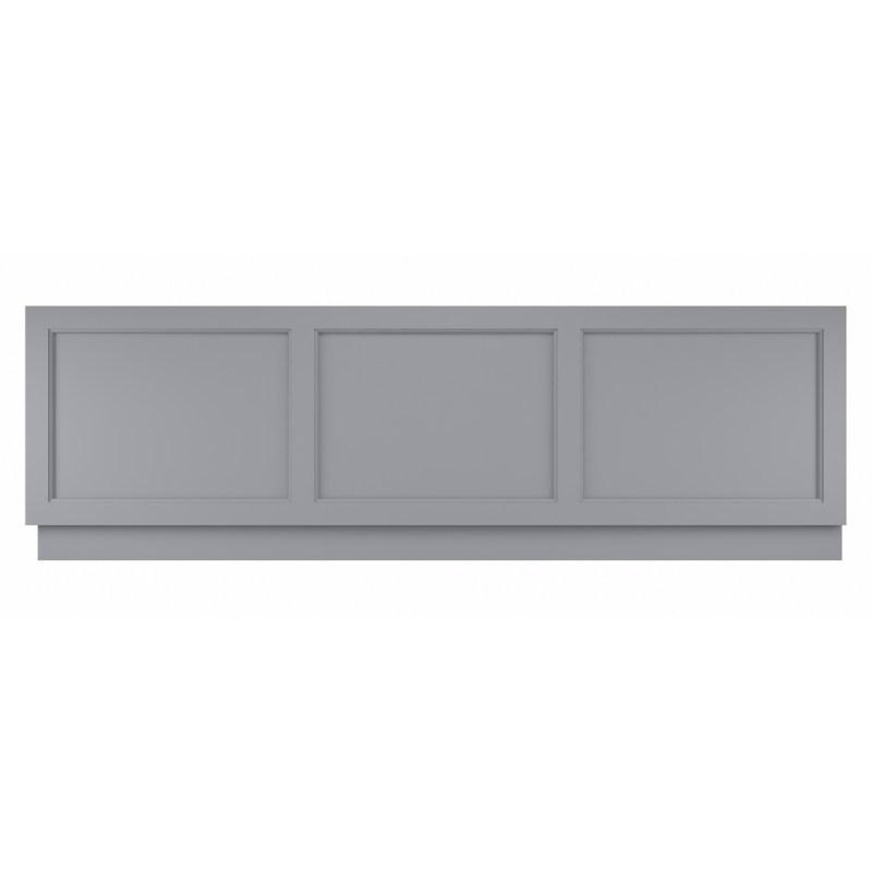 Bayswater Plummett Grey 1700mm Bath Front Panel