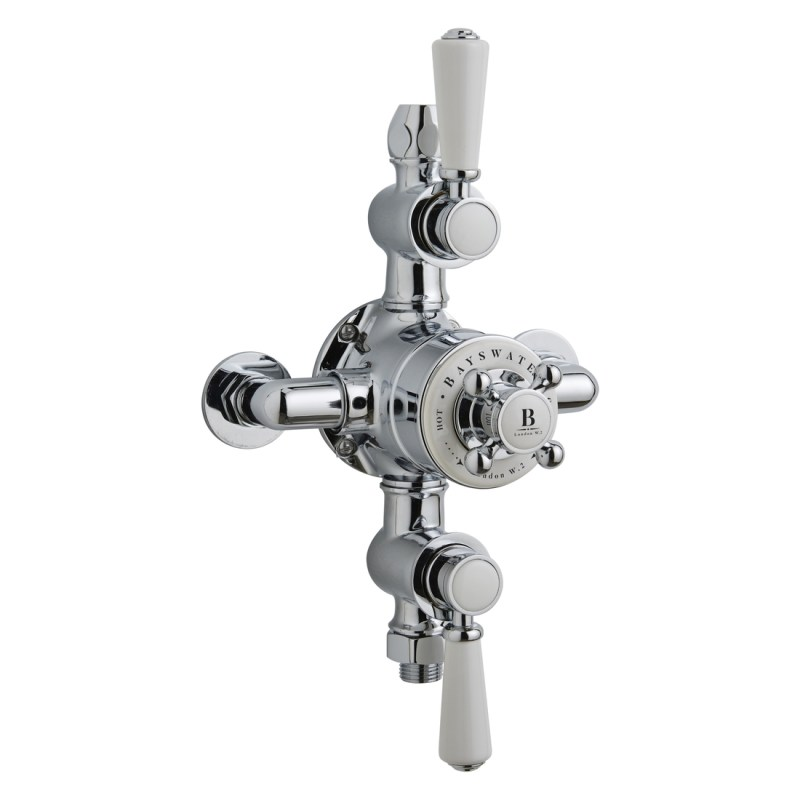 Bayswater Triple Exposed Valve with White Indices