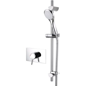Bristan Acute Thermostatic Recessed Shower Valve & Riser