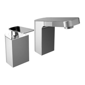 Bristan Alp 2 Hole Bath Filler Chrome