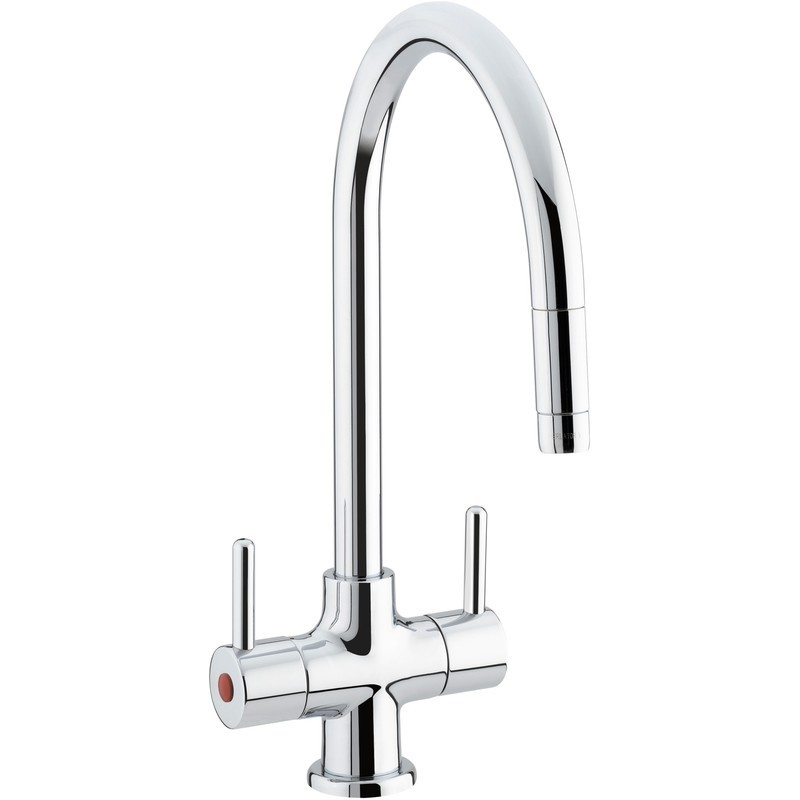 Bristan Beeline Sink Mixer with Pull Out Nozzle