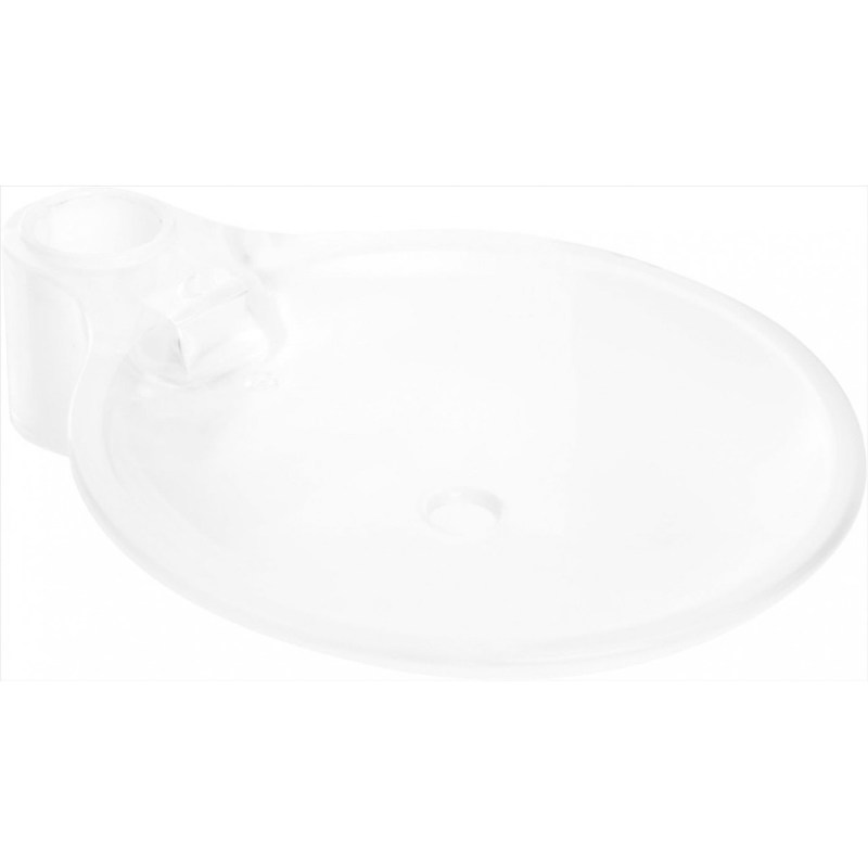 Bristan Cascade Clear Soap Dish Chrome
