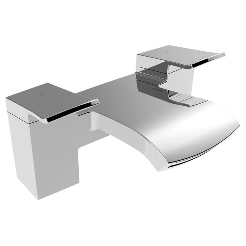 Bristan Descent Bath Filler Chrome