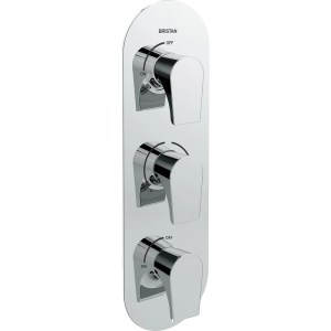 Bristan Hourglass Dual Control Shower Valve with Twin Stopcocks