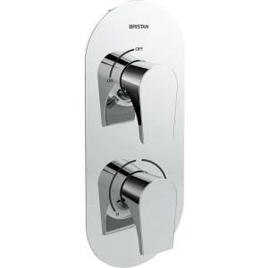 Bristan Hourglass Recessed Dual Control Shower Valve