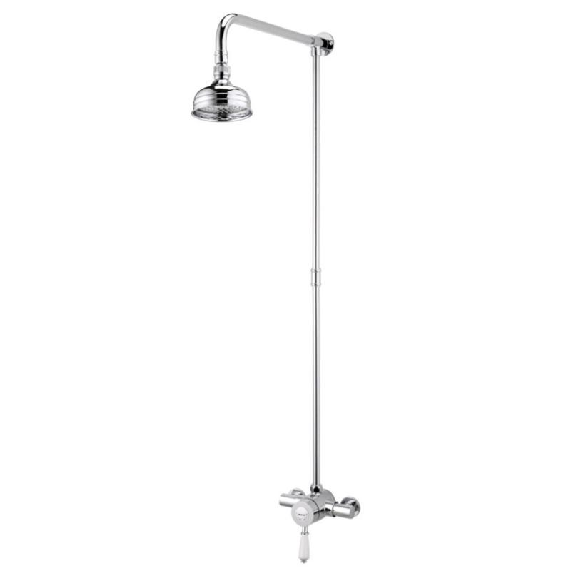 Bristan Colonial2 Thermostatic Shower Valve with Rigid Riser
