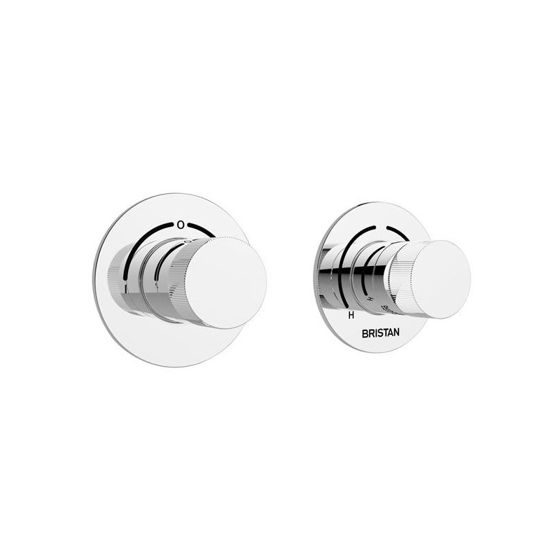 Bristan Orb Recessed Thermostatic Shower Valve with Diverter