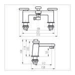 Bristan Pivot Bath Shower Mixer Chrome