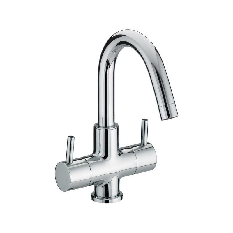 Bristan Prism 2 Handle Basin Mixer (No Waste)