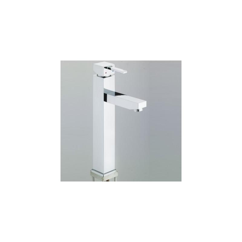 Bristan Quadrato Tall Basin Mixer No Waste Chrome