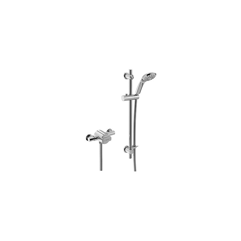Bristan Quest Exposed Sequential Chrome Shower Valve with Kit