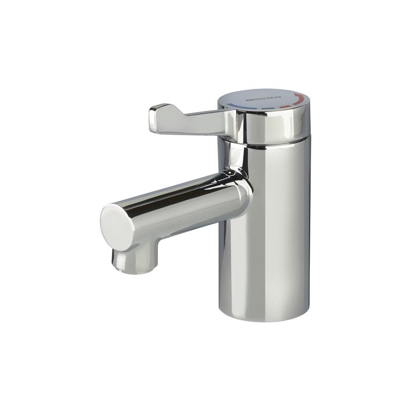 Bristan Gummers Solo2 Basin Mixer with Short Lever (No Waste)