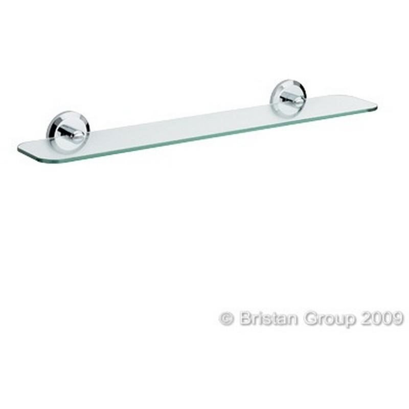 Bristan Solo Glass Shelf