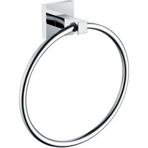 Bristan Square Towel Ring Chrome