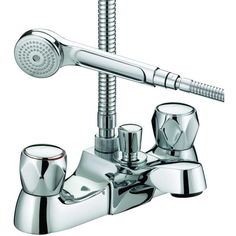 Bristan Club Luxury Bath Shower Mixer 6 Litre per Minute Flow