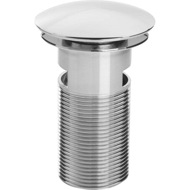 Bristan Round Clicker Basin Waste Slotted Chrome